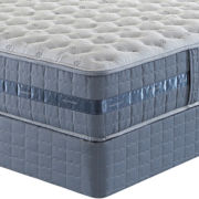 Serta® Perfect Sleeper® Messenger Bay Plush Mattress plus Box Spring