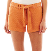 i jeans by Buffalo Belted Striped Shorts