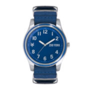Zoo York® Mens Nylon Strap Watch
