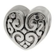 Forever Moments™ Filigree Heart-Shaped Bead