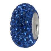Forever Moments™ Blue Crystal Pavé Charm Bracelet Bead