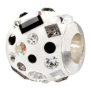 Forever Moments™ Resin and Crystal Charm Bracelet Bead