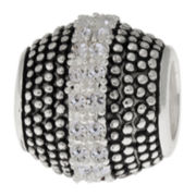 Forever Moments™ Beaded Crystal Spacer Bead
