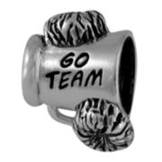 Forever Moments™ Oxidized Cheerleader Megaphone Bead