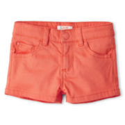 Joe Fresh™ Colored Shorts - Girls 1t-5t