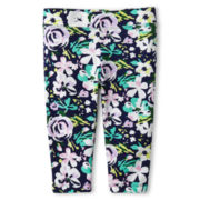 Joe Fresh™ Floral Capri Leggings - Girls 1t-5t