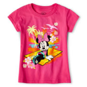 Disney Pink Minnie Graphic Tee - Girls 2-12