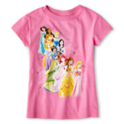 Disney Collection Princesses Graphic Tee - Girls 2-12