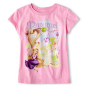 Disney Rapunzel Graphic Tee - Girls 2-12