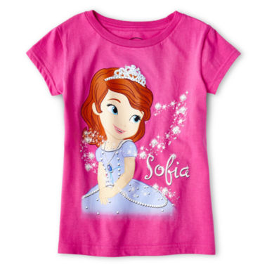 jcpenney.com | Disney Collection Sofia Graphic Tee - Girls 2-12