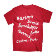 NY Neighborhoods Graphic Tee