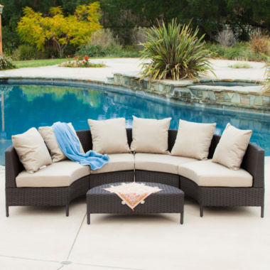 jcpenney.com | Port Limon 5-pc. Wicker Outdoor Lounge Set