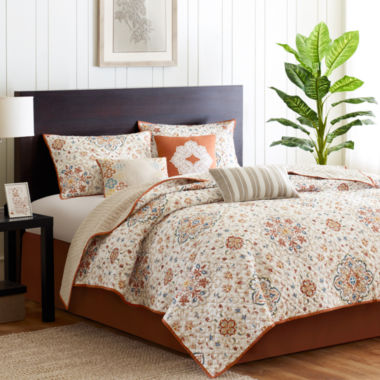 jcpenney.com | Madison Park Maya 6-pc. Coverlet Set