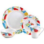 Pfaltzgraff® Beach Ball 16-pc. Dinnerware Set