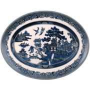 Johnson Brothers Willow Blue Serving Platter