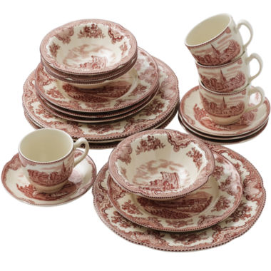 jcpenney.com | Johnson Brothers Old British 20-pc. Dinnerware Set