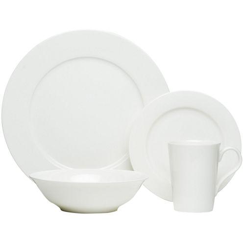 Red Vanilla Bone China 16-pc. Dinnerware Set