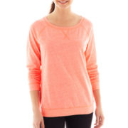 Xersion™ Long-Sleeve Lightweight Sweatshirt