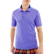 Jack Nicklaus® Brushed Solid Polo with Contrast Collar