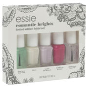 essie® Romantic Brights 5-pc. Mini Bridal Nail Polish Set