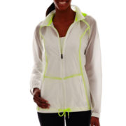 Xersion™ Neon Shadow Woven Water-Resistant Jacket - Tall