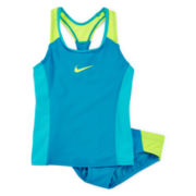 Nike® 2-pc. Racerback Tankini Set - Girls 7-16