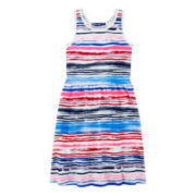 Arizona Scrunch-Back Americana Dress – Girls 7-16 and Plus