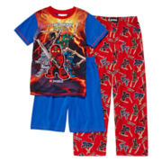Ninjago 3-pc. Pajama Set - Boys 4-12