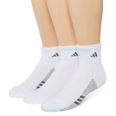 jcpenney.com | adidas® Mens 3-pk. climacool® Superlite Quarter Socks