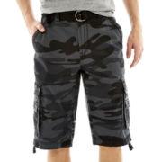 UNIONBAY® Vintage Fresh Twill Camo Cargo Shorts