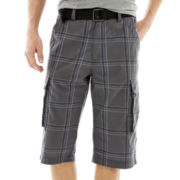 UNIONBAY® Messenger Belted Cargo Shorts