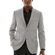 Savile Row® Check Sport Coat–Classic Fit