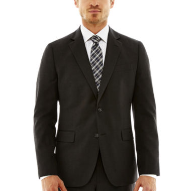 jcpenney.com | Stafford® Travel Charcoal Suit Jacket—Slim Fit