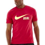 Nike® Baseball Swoosh Tee