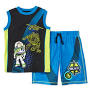 Disney Collection Toy Story Tee and Shorts Set - Boys 2-10