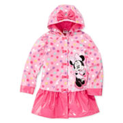 Disney Collection Minnie Mouse Rain Jacket – Girls 2-8