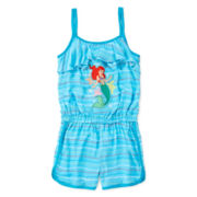 Disney Collection Ariel Romper - Girls 2-10