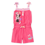 Disney Collection Minnie Mouse Romper - Girls 2-10