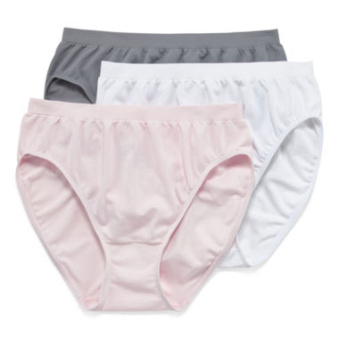 jcpenney.com | Jockey® Comfies® 3-pk. French-Cut Panties - 3326