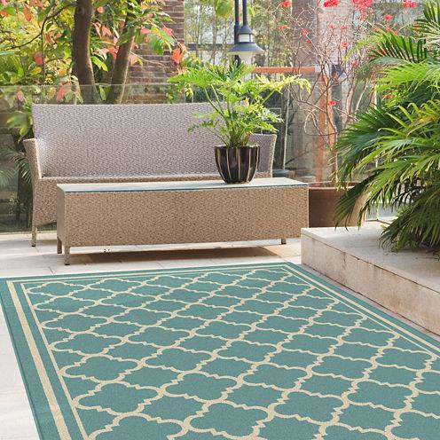 Tayse Garden City Tangier Rectangular Rugs