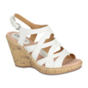 Bolo® Shyra Cork Wedge Sandals