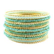 Pannee Acrylic Seed Bead Bracelets