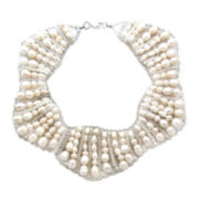 Pannee Multi-Crystal & Quartz Necklace
