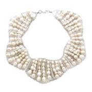 Pannee Multi-Crystal & Quartz Necklace