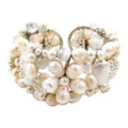 Pannee Freshwater Pearl Cuff Bracelet