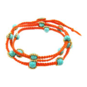 Pannee Beaded Wrap Bracelet