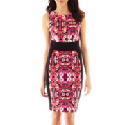 nicole by Nicole Miller® Sleeveless Print Cutout Dress