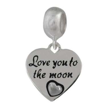 jcpenney.com | Forever Moments™ Heart-Shaped Love You to the Moon Bead