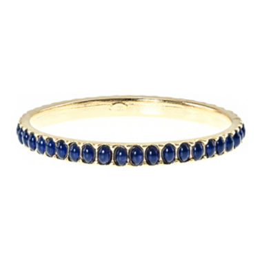 jcpenney.com | KJL by KENNETH JAY LANE Gold-Tone Blue Stone Bangle Bracelet