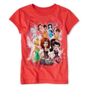 Disney Collection Fairy Princesses Graphic Tee - Girls 2-12